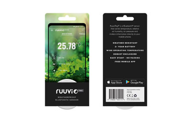 RuuviTag 1-Pack Is Now Available