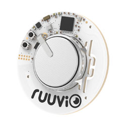RuuviTag collect sensor data and stream it to the IOTA Tangle