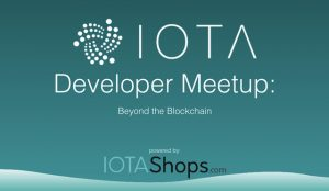 IOTA Developer Meetup in April 2019 in Berlin powered by IOTAshops