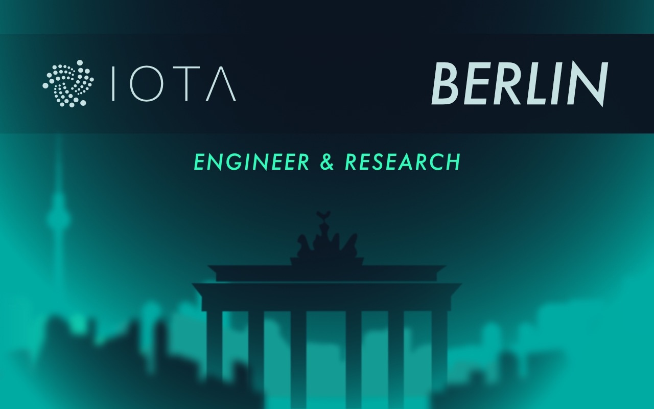 IOTA Developer Meetup Beyond The Blockchain In Berlin
