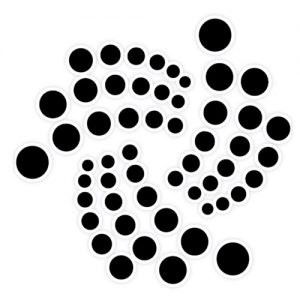 IOTA logo sticker