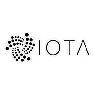 IOTA + writing sticker