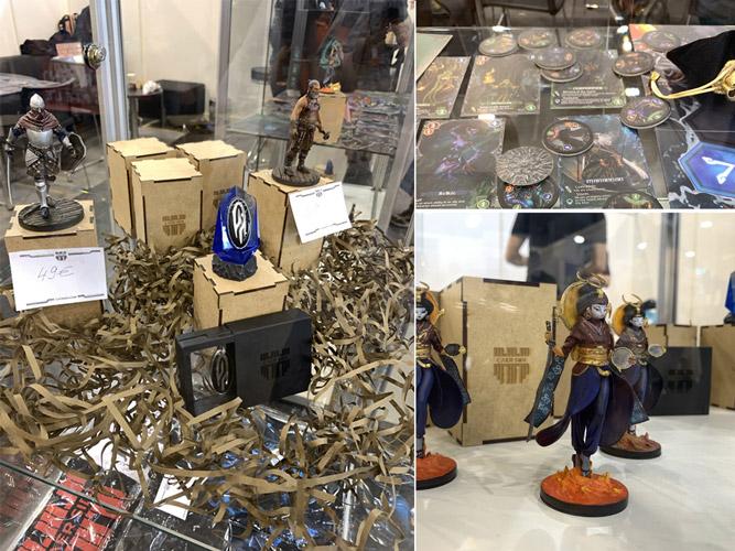 paracosm keys, mini figurines, altar the war of gods board game