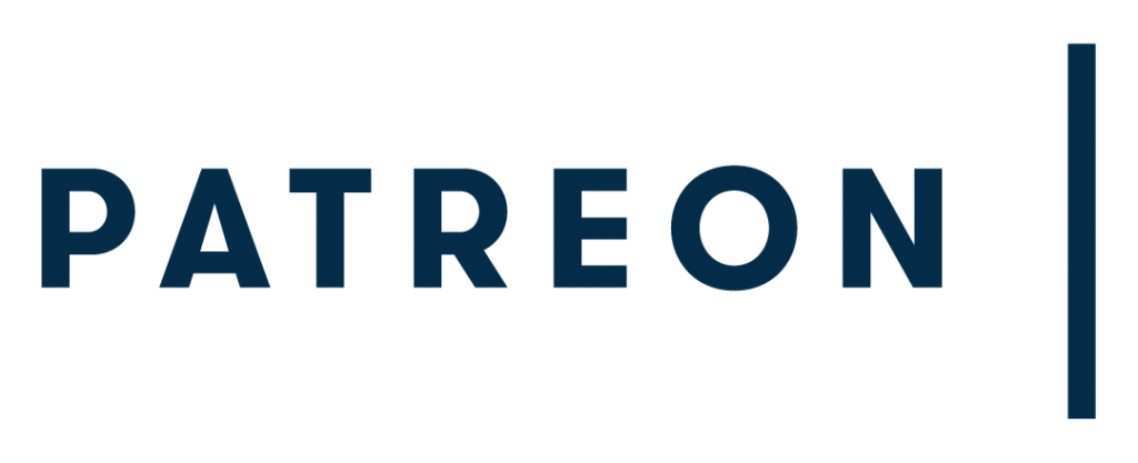 Patreon.com logo wordmark