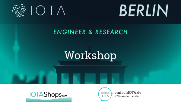 IOTA Javascript Workshop In Berlin – 6. Februar 2020