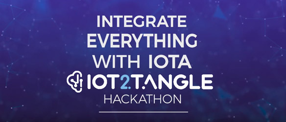 IoT2Tangle Hackathon Integrate Everything With IOTA